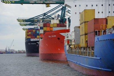 Le chiffre d'affaires des ports belges a chuté de 10,5 % en 2020 en raison de la crise du COVID-19
